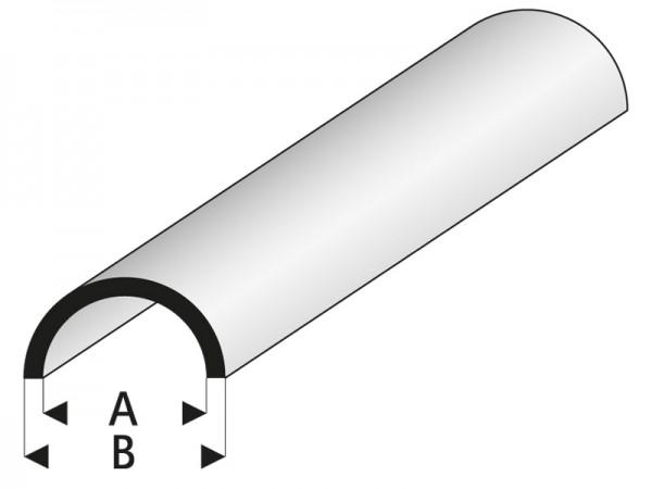 Krick RABOESCH ASA Viertelrundstab 6x1000 mm rb402-60