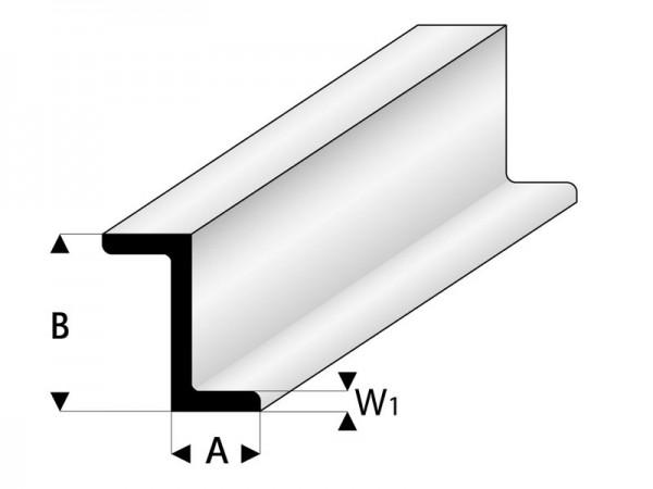 Asa Z Profil 8x12x1000 Mm Asa Profile Werkstoffe Material