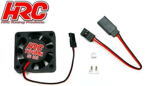 Lüfter 35x35 - HRC Typhoon RC Fan - Ultra High Speed - JR Stecker - Bild 1